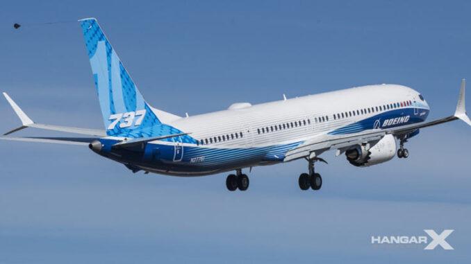 Boeing 737 MAX 10 primer vuelo