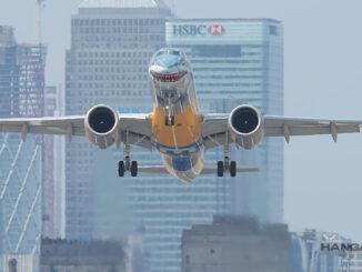 Embraer E190-E2 certificado para operar en London City Airport