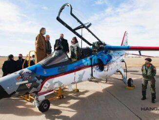 FAdeA entregó el primer IA-63 Pampa III Bloque II a la Fuerza Aérea Argentina