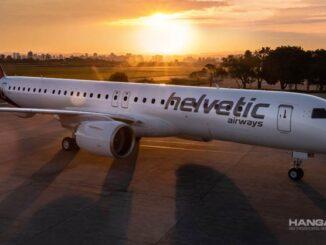 Helvetic Airways / Embraer E195-E2