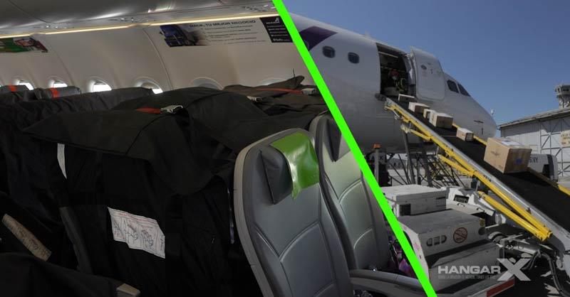 SKY Airline aumenta su capacidad de carga con la implementación del sistema Seat Container