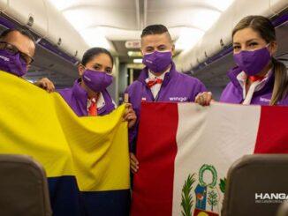 Wingo inauguró sus vuelos entre Bogotá y Lima
