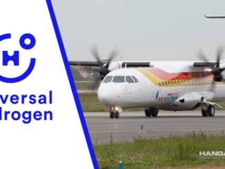 Air Nostrum utilizará combustible de hidrógeno para sus aviones turbohélice