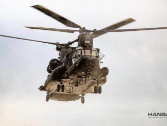 Boeing potenciará la flota Chinook de la Royal Air Force del Reino Unido