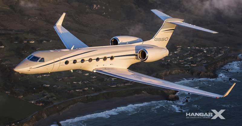 Gulfstream entregó el último G550