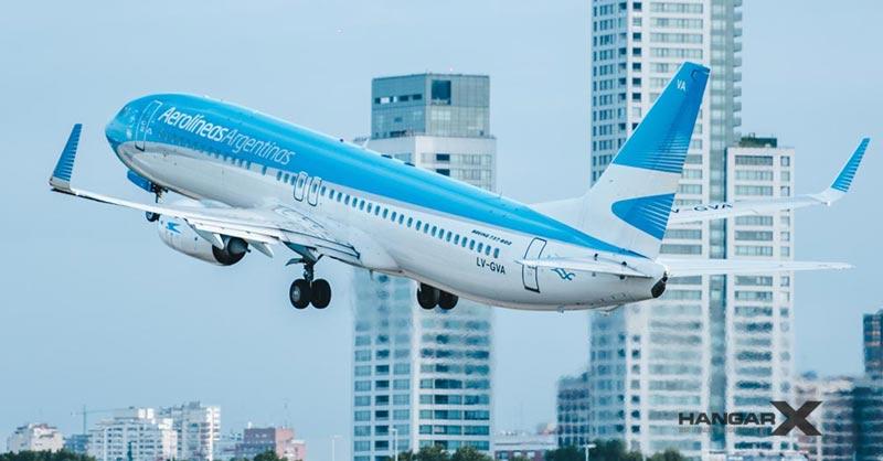 Aerolíneas Argentinas - Vuelos Domésticos (Boeing 737-800 LV-GVA)