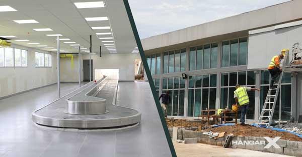 Avanzan las obras de remodelación y ampliación del Aeropuerto Internacional Panamá Pacífico