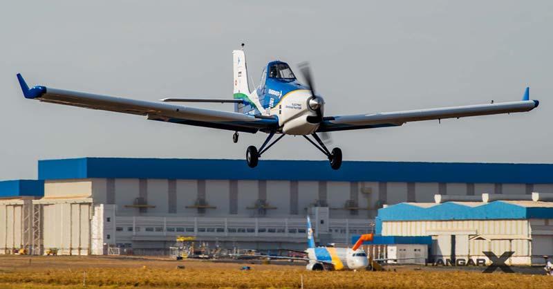El avión eléctrico de Embraer comienza las pruebas de vuelo