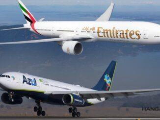 Azul y Emirates realizarán vuelos en código compartido