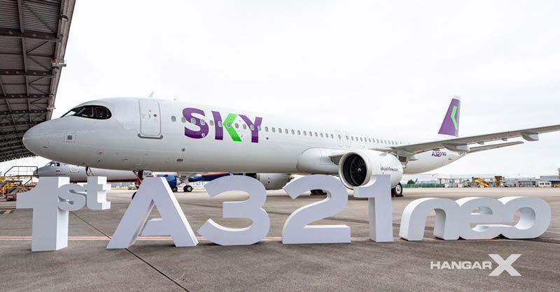 SKY Airline recibió su primer Airbus A321neo
