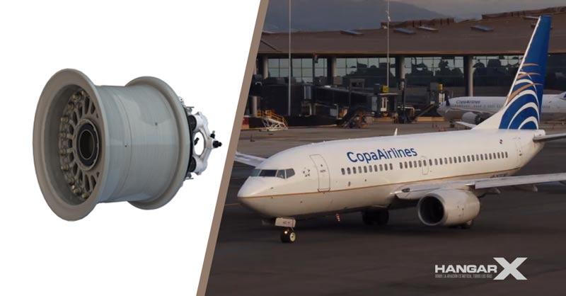 Copa Airlines actualiza la flota 737NG con ruedas y frenos de Collins Aerospace
