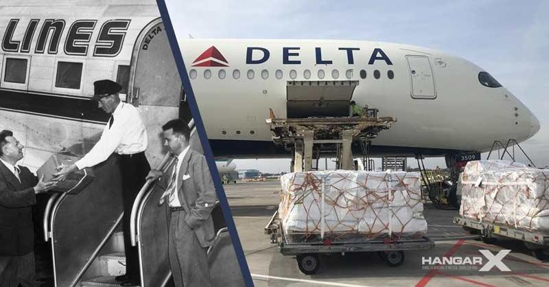 Delta celebra su 75 Aniversario en el sector de Carga Aérea