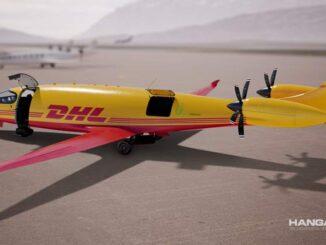 DHL Express compra 12 aviones eléctricos Eviation Alice e-Cargo