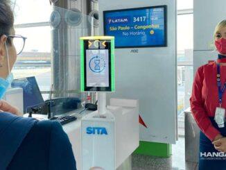 LATAM realiza el primer embarque con tecnología de reconocimiento facial en el aeropuerto de Brasilia