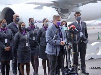 SKY Airline anunció nuevas rutas internacionales