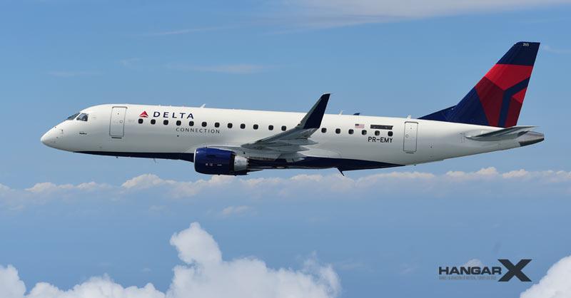 SkyWest Airlines ordena 16 Embraer E175 para operar con Delta Air Lines
