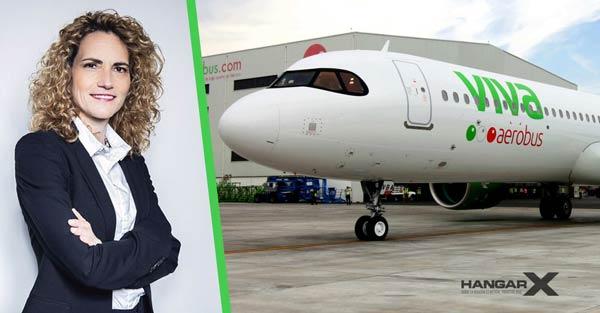 Viva Aerobus anuncia la incorporación de su nueva CFO