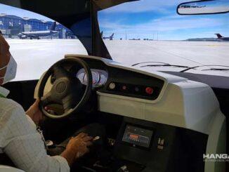 Aena instala Simulador de conducción para el área de maniobras en 13 aeropuertos de su red