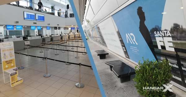 El Aeropuerto de Rosario se prepara para ser habilitado como corredor aéreo seguro