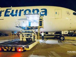 Air Europa transportó más de 25 toneladas de vacunas Covid a Colombia