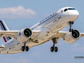 Air France recibió su primer Airbus A220 de un total de 60 unidades