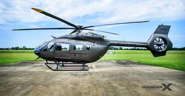 Airbus entrega el primer helicóptero UH-72B Lakota a la Guardia Nacional del Ejército de Estados Unidos
