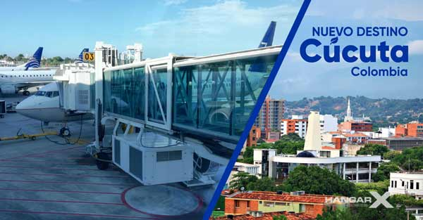 Copa Airlines comenzará a operar vuelos a la ciudad de Cúcuta, Colombia
