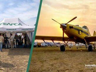 FeArCa mostró el profesionalismo de la Aviación Agrícola en Agronea 2021