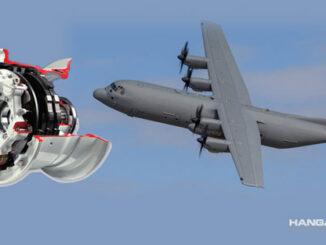 La Fuerza Aérea de Estados Unidos equipará sus Hércules C-130J con ruedas y frenos de carbono