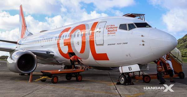 GOL realizó el primer vuelo carbono neutro de Brasil