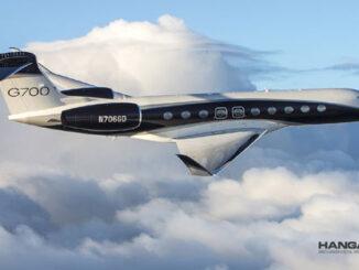 El Gulfstream G700 marcó sus dos primeros récords de velocidad