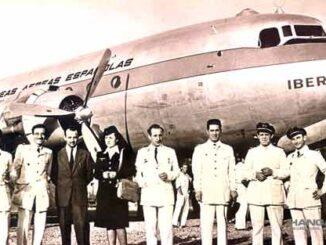 Iberia celebra el 75° Aniversario de sus vuelos hacia América Latina