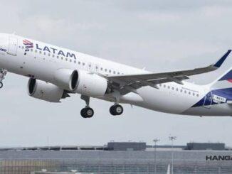 LATAM Airlines actualizará más de 200 aviones de la familia Airbus A320