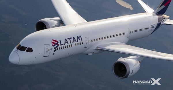 LATAM Brasil será el primer operador brasileño del Boeing 787 Dreamliner