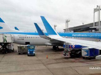Vuelven los vuelos de Aerolíneas Argentinas a Uruguay