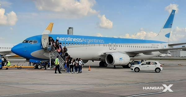 Aerolíneas Argentinas reinicia sus vuelos domésticos e internacionales desde Córdoba