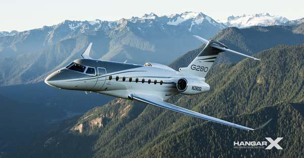 Gulfstream incorpora nuevas características al G280